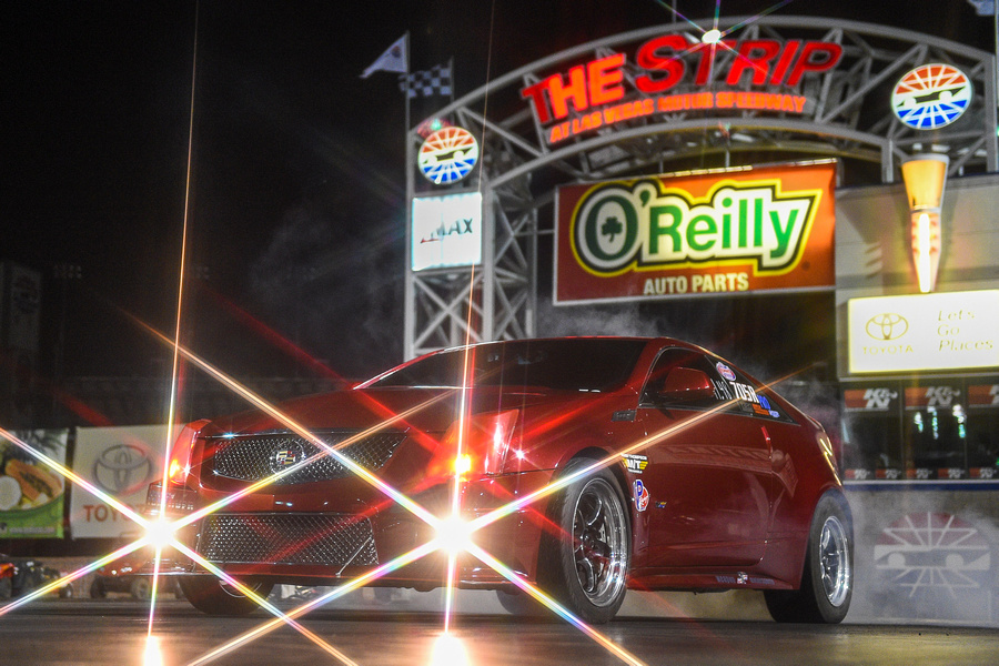 The Red Zeppelin Cadillac CTS-V Race Car